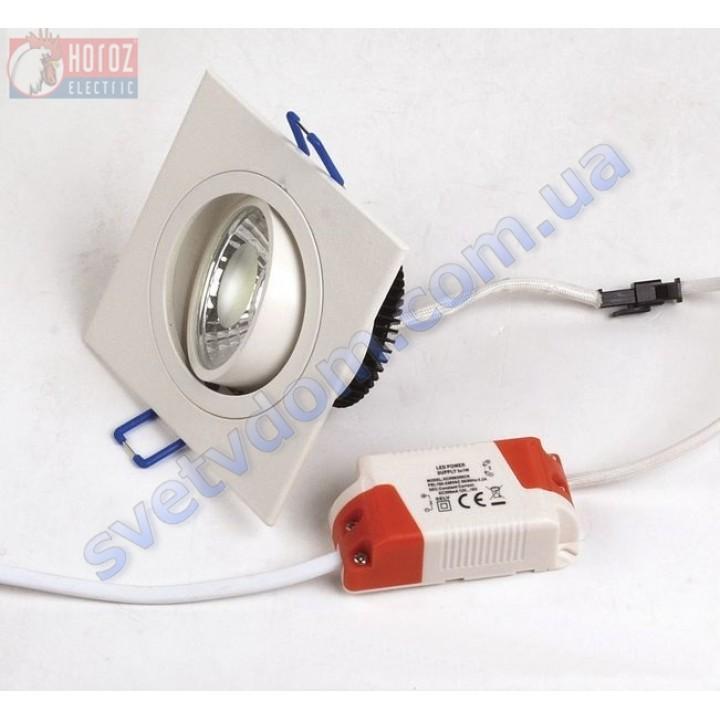 Светильник точечный светодиодный LED Horoz Electric ADRIANA-5 HL6701L 5W 6400K 016-021-0005-C