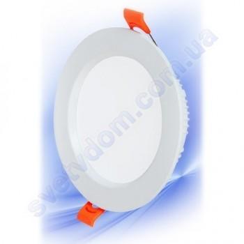 Світильник стельовий врізний світлодіодний LED Horoz Electric ALEXA-8 8W 016-048-0008