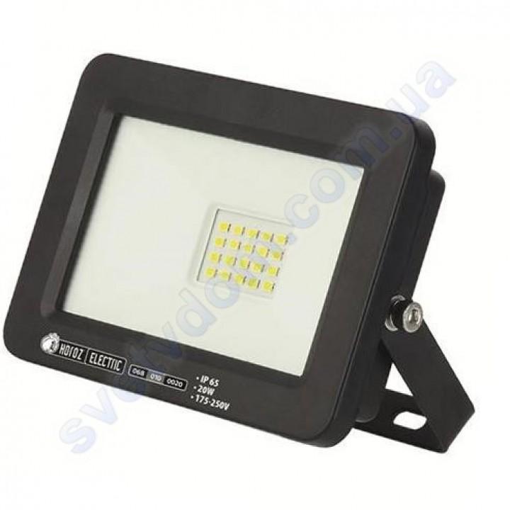 Прожектор світлодіодний LED Horoz Electric ASLAN-20 20W IP65 068-010-0020