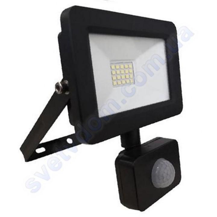 Прожектор светодиодный LED Horoz Electric ASLAN/S-20 20W 6400K с датчиком движения IP65 068-011-0020
