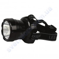 Світильник-ліхтар акумуляторний налобний світлодіодний LED Horoz Electric BECKHAM-3 чорний або синій 084-007-0003