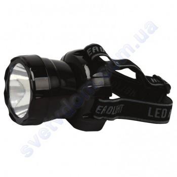 Светильник-фонарь аккумуляторный налобный светодиодный LED Horoz Electric BECKHAM-3 черный или синий 084-007-0003