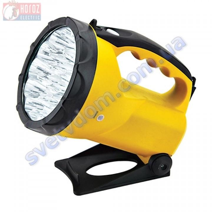 Светильник-фонарь аккумуляторный переносной светодиодный 19LED Horoz Electric HL338L CAFU-1 084-004-0001