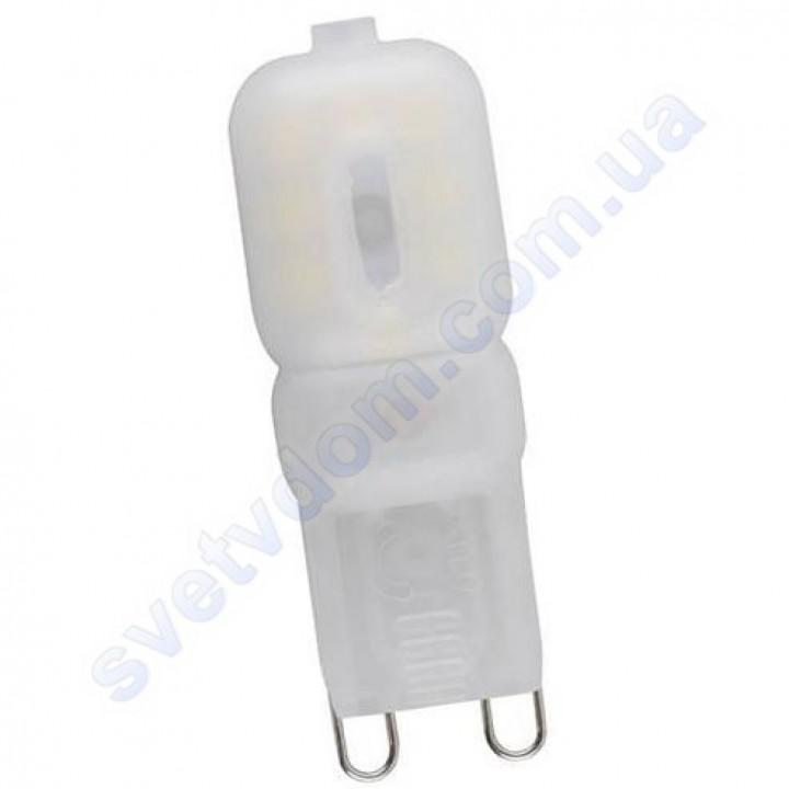 Лампа светодиодная Horoz Electric LED DECO-3 3W (аналог 25Вт) G9 (220V) 001-023-0003