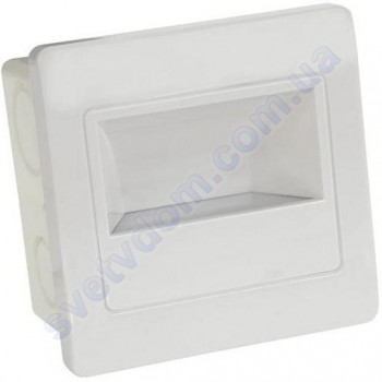 Светильник подсветка с микроволновым датчиком для лестницы светодиодный LED Horoz Electric DIAMOND 2W 4200K 079-026-0002