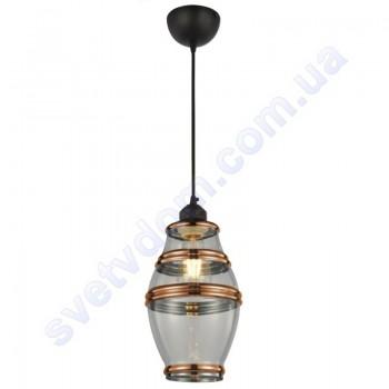 Світильник підвісний Horoz Electric ELEMENT-2 скло+метал E27 021-015-0002