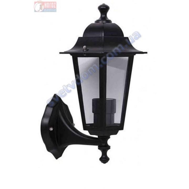 Світильник вуличний садово-парковий фасадний Horoz Electric ERGUVAN-1 HL270 E27 60W, max IP44 білий-чорний алюміній 075-012-0001