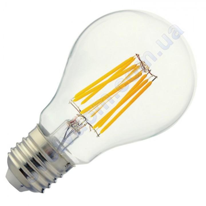 Лампа светодиодная Horoz Electric GLOBE-10 10W (аналог 75Вт) A60 E27 FILAMENT 001-015-0010