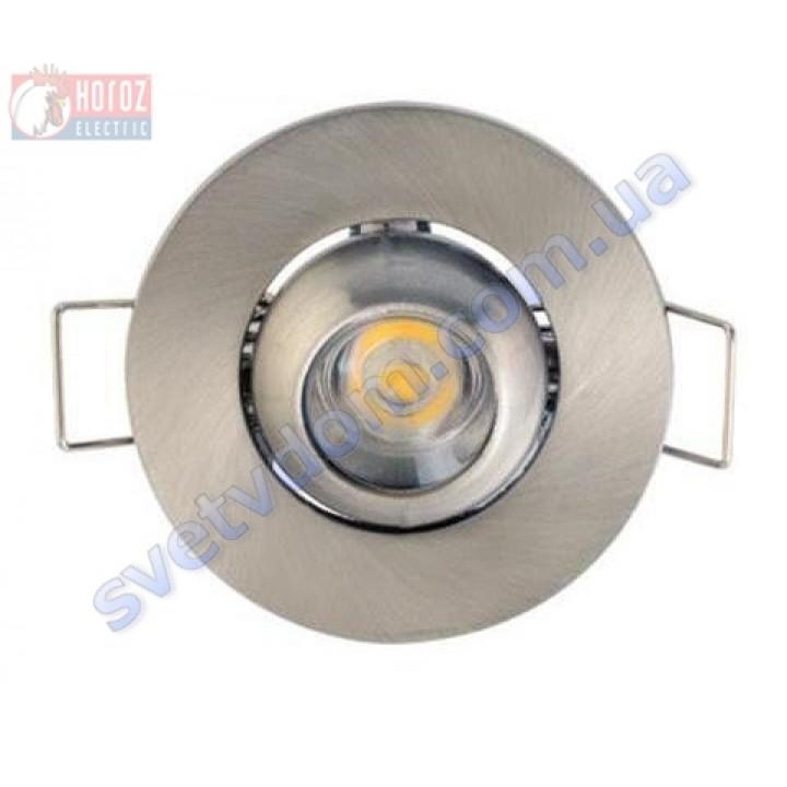Світильник точковий світлодіодний меблевий LED Horoz Electric FIONA 1W 6400K 016-028-0001-C