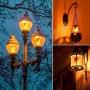 Лампа світлодіодна Horoz Electric FIREFLUX 5W (аналог 40Вт) S65 E27 ПОЛУМ'Я 001-048-0005