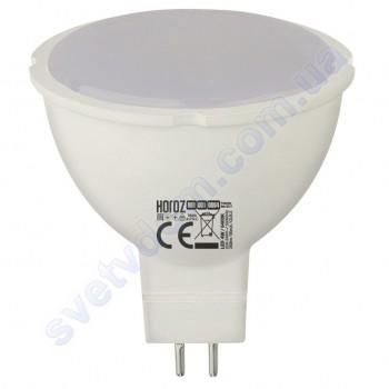Лампа світлодіодна Horoz Electric LED FONIX-4 4W (аналог 30Вт) MR16 GU5.3 001-001-0004