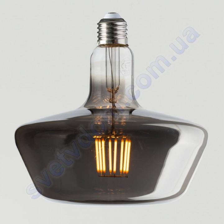 Лампа Едісона світлодіодна Horoz Electric GINZA TITANIUM 8W (аналог 60Вт) E27 FILAMENT 001-050-0008-T