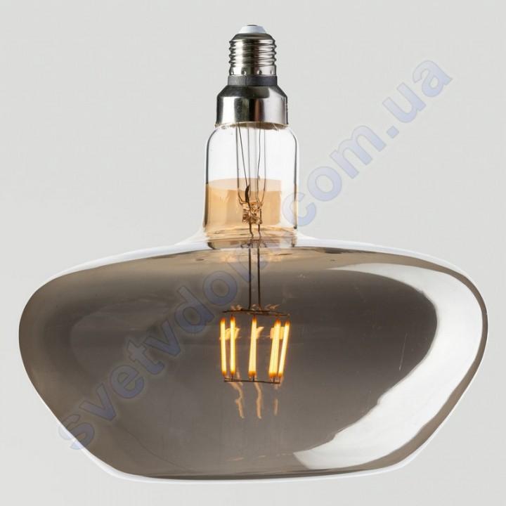 Лампа Едісона світлодіодна Horoz Electric GINZA-XL TITANIUM 8W (аналог 60Вт) E27 FILAMENT 001-050-0008-TXL