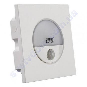 Світильник підсвічування з датчиком для сходів світлодіодний LED Horoz Electric GOLD 3W 4200K 079-025-0003