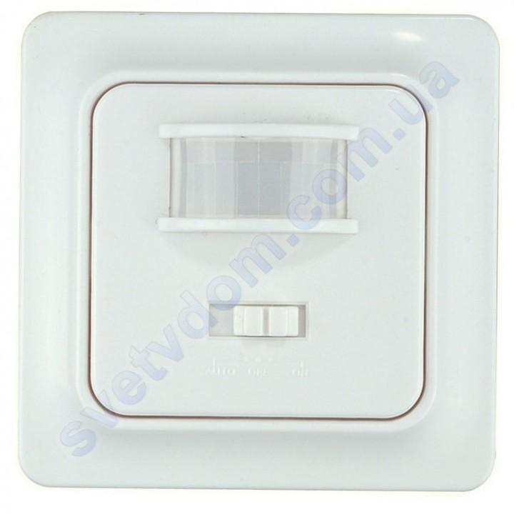 Датчик руху і шуму GOLF Horoz Electric 6м Білий-Чорний 088-001-0004