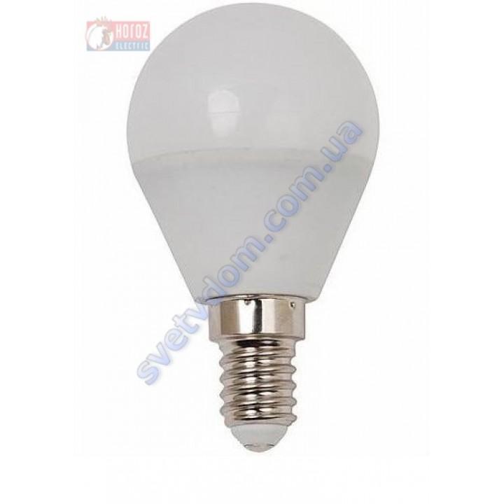 Лампа світлодіодна Horoz Electric HL4380L 4W (аналог 30Вт) A45 6400K E14 001-005-0004-C-E14