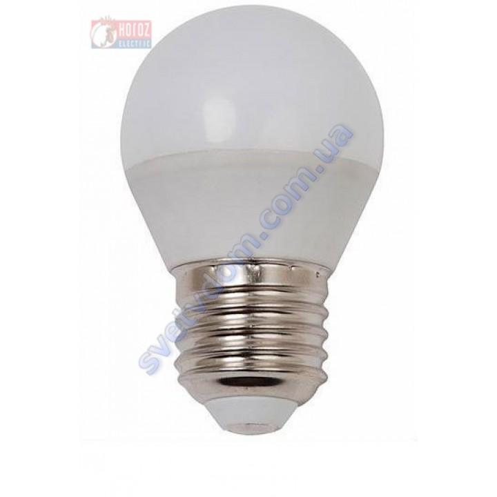 Лампа светодиодная Horoz Electric HL4380L 4W (аналог 30Вт) A45 4200K E27 001-005-0004-N-E27