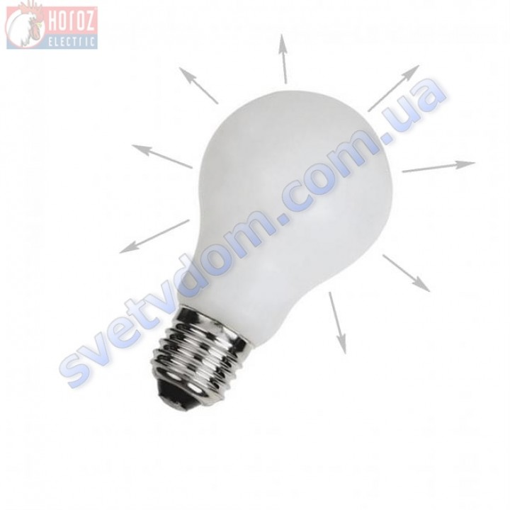 Лампа светодиодная Horoz Electric INFINITY 8W (аналог 60Вт) G60 4200K E27 001-018-0008-N