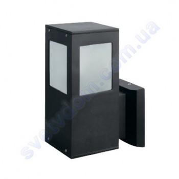 Светильник уличный садово-парковый фасадный Horoz Electric KAVAK/SQ-2 E27 IP44 алюминий+стекло 075-015-0002