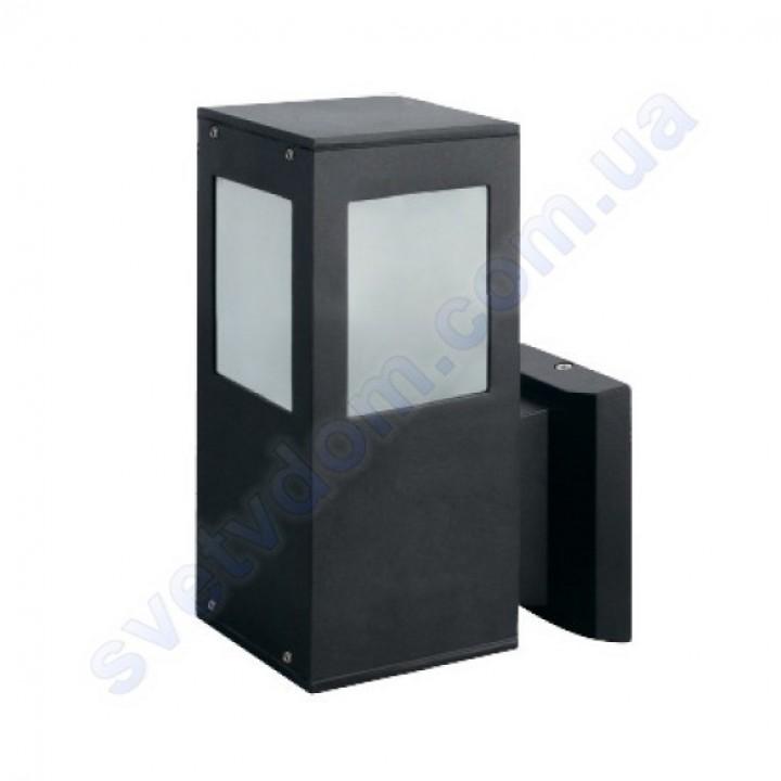 Світильник вуличний садово-парковий фасадний Horoz Electric KAVAK/SQ-2 IP44 E27 алюміній+скло 075-015-0002