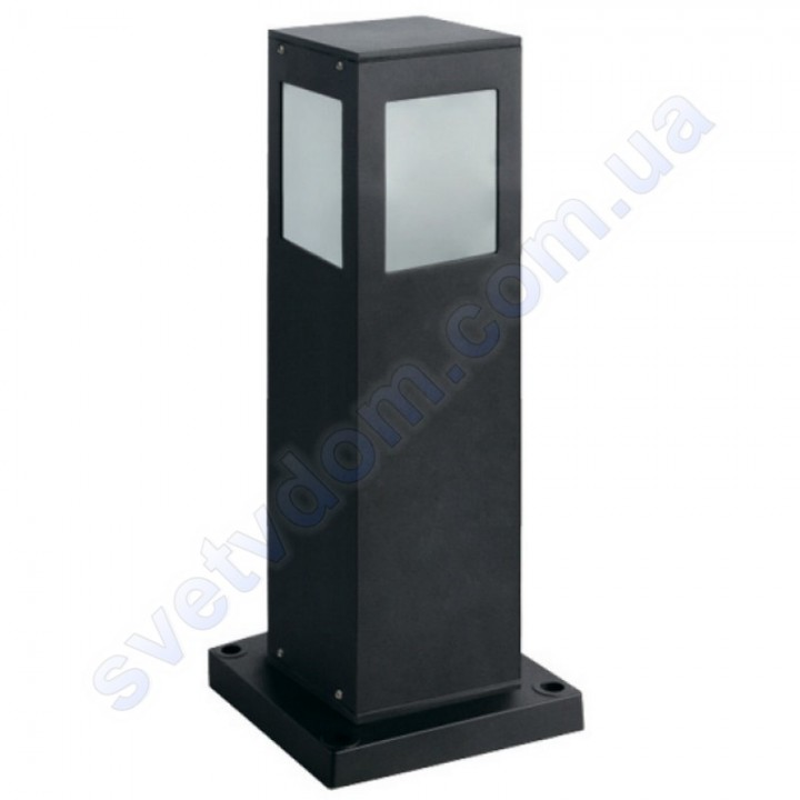 Светильник уличный садово-парковый Horoz Electric KAVAK/SQ-4 E27 IP44 алюминий+стекло 075-015-0004