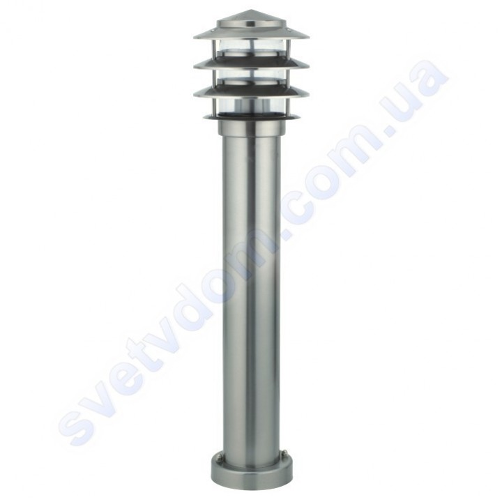 Світильник вуличний садово-парковий Horoz Electric KAYIN-3 IP44 E27 нерж 075-003-0003