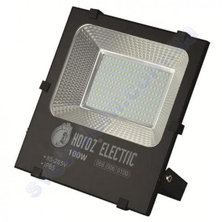 Прожектор светодиодный LED Horoz Electric LEOPAR-100 100W 6400K IP65 068-006-0100