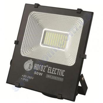 Прожектор світлодіодний LED Horoz Electric LEOPAR-50 50W 6400K IP65 068-006-0050
