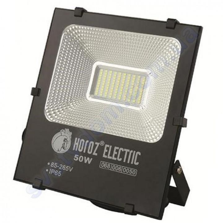 Прожектор светодиодный LED Horoz Electric LEOPAR-50 50W 6400K IP65 068-006-0050