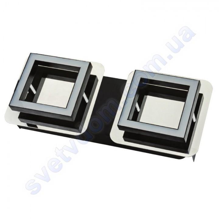 Світильник Світлодіодний LED настінно-стельовий Horoz Electric LIKYA-2 4000K 2x5W хром 036-007-0002