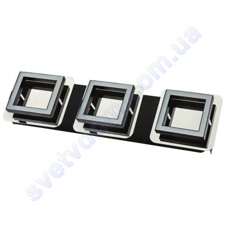 Светильник Светодиодный LED настенно-потолочный Horoz Electric LIKYA-3 4000K 3x5W хром 036-007-0003