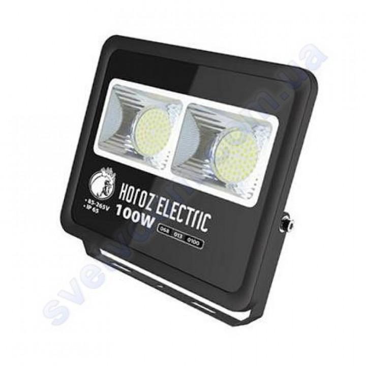 Прожектор світлодіодний LED Horoz Electric LION-100 100W 6400K IP65 068-013-0100