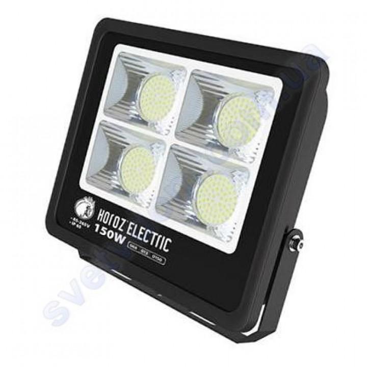 Прожектор светодиодный LED Horoz Electric LION-150 150W 6400K IP65 068-013-0150