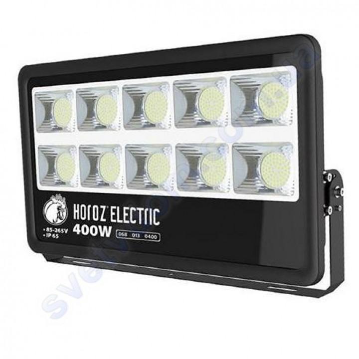 Прожектор светодиодный LED Horoz Electric LION-400 400W 6400K IP65 068-013-0400