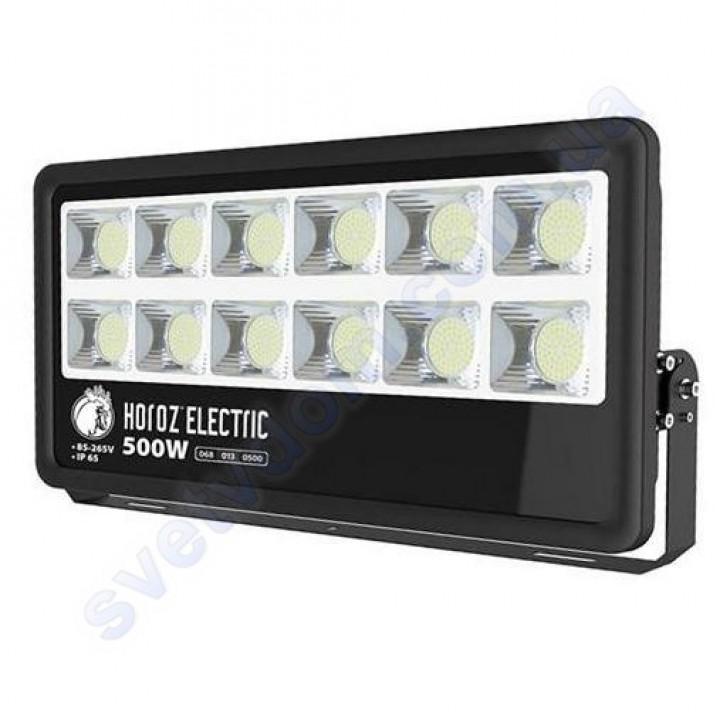 Прожектор светодиодный LED Horoz Electric LION-500 500W 6400K IP65 068-013-0500