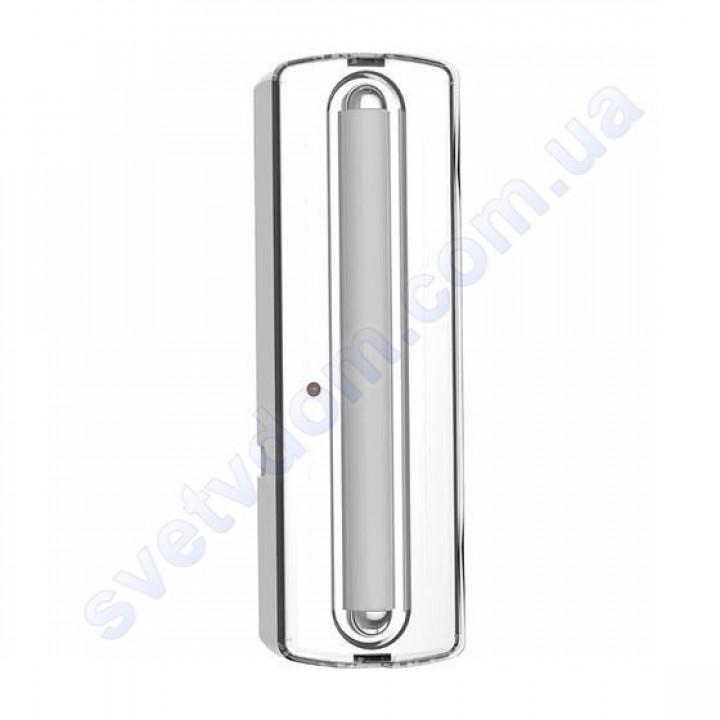 Светильник-фонарь аккумуляторный настенно-потолочный аварийный светодиодный LED Horoz Electric MALDINI-2 084-014-0002