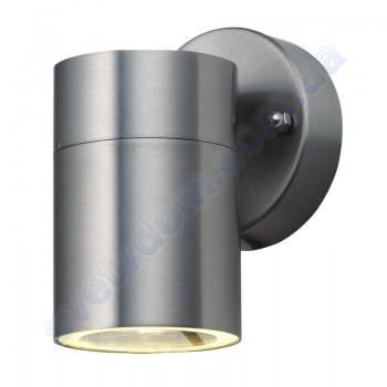 Світильник вуличний садово-парковий фасадний Horoz Electric MANOLYA-1 GU10 IP44 нерж 075-008-0001