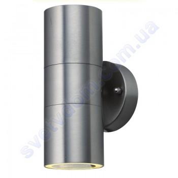 Светильник уличный садово-парковый фасадный Horoz Electric MANOLYA-2 GU10x2 IP44 нерж 075-008-0002