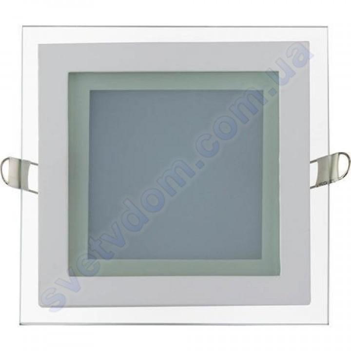 Светильник потолочный светодиодный LED со стеклянным декором Horoz Electric MARIA-12 12W 016-015-0012