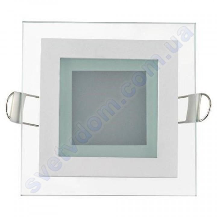 Світильник стельовий світлодіодний LED зі скляним декором Horoz Electric MARIA-6 6W 016-015-0006