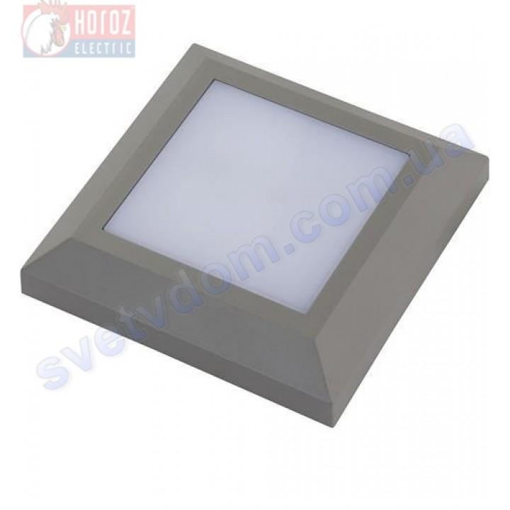 Світильник вуличний садово-парковий настінний світлодіодний LED Horoz Electric MERSIN 5W 4200K IP65 076-011-0005