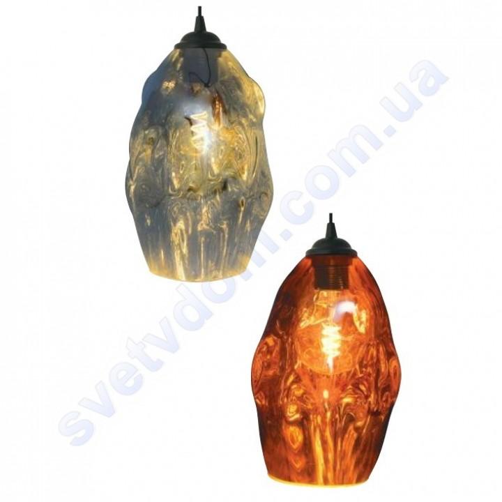 Світильник підвісний Horoz Electric METEOR-2 скло E27 021-014-0002