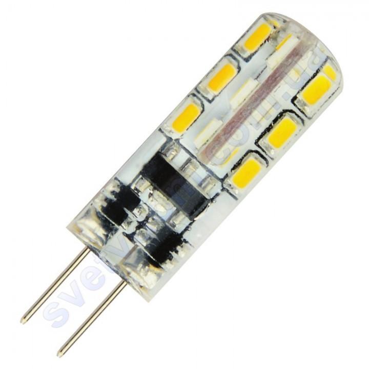 Лампа светодиодная Horoz Electric LED MIDI 1,5W (аналог 15Вт) G4 (12V) силикон 001-012-0002