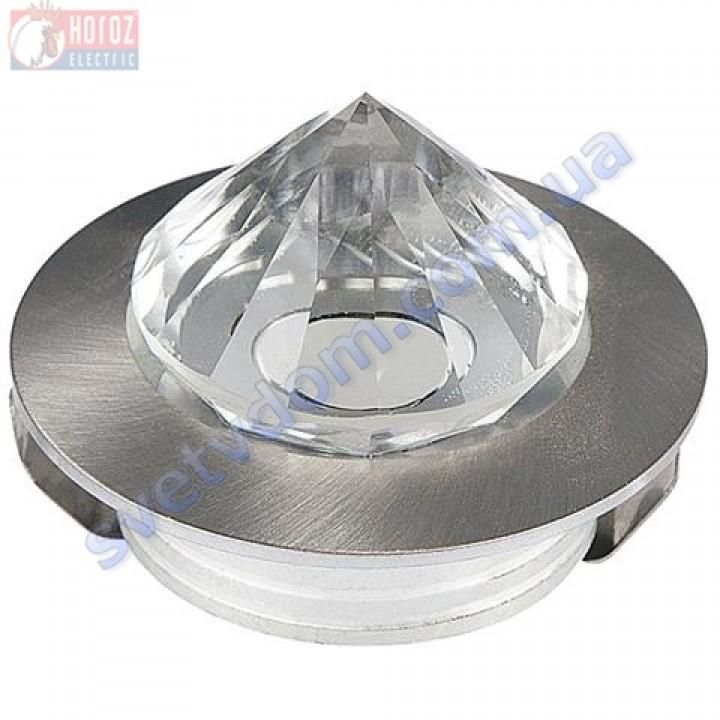 Светильник точечный светодиодный мебельный LED Horoz Electric NADIA HL661L 1W 6400K 016-027-0001-C