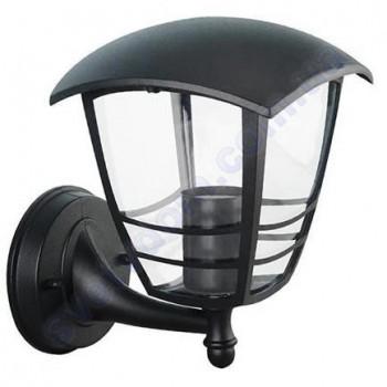 Светильник уличный садово-парковый фасадный Horoz Electric NAR-1 E27 IP44 черный алюминий 075-016-0001