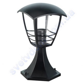 Світильник вуличний садово-парковий стовпчик Horoz Electric NAR-3 IP44 E27 чорний алюміній 075-016-0003