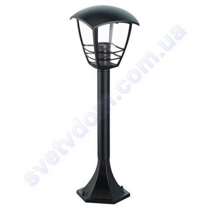 Світильник вуличний садово-парковий стовпчик Horoz Electric NAR-4 IP44 E27 чорний алюміній 075-016-0004
