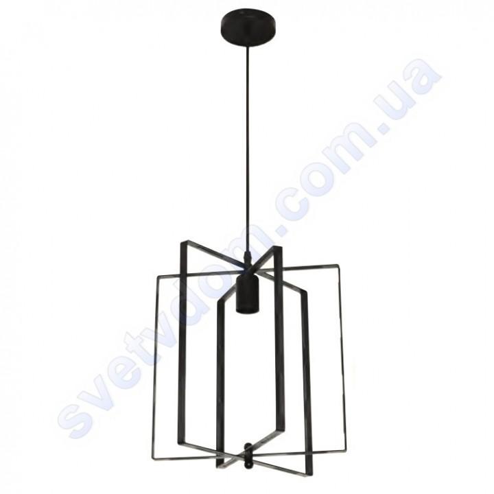 Світильник підвісний складаний Horoz Electric NOBEL E27 чорний метал 021-013-0001