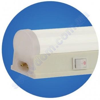 Світильник світлодіодний лінійний настінно-стельовий LED Horoz Electric OMEGA-6 6W 6400K 30см (аналог T8 G13) 052-002-0030-C