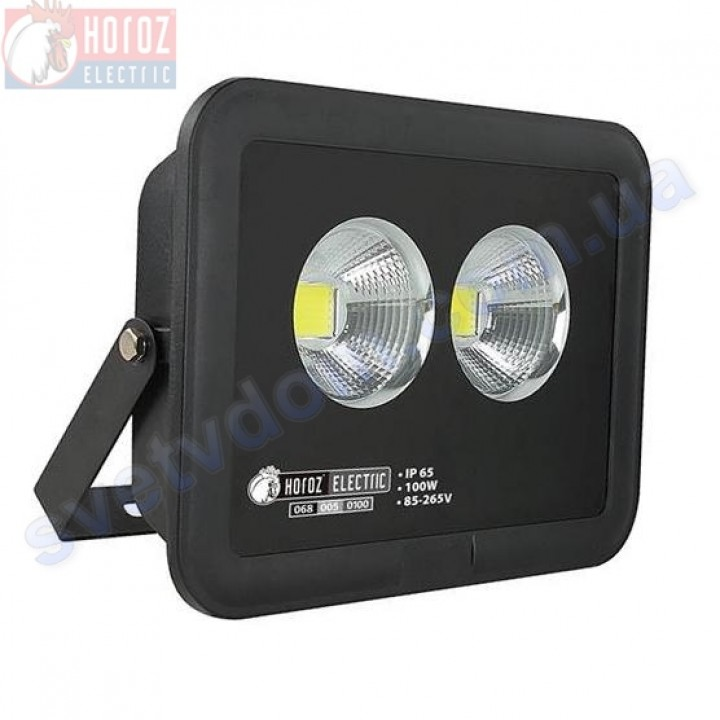 Прожектор светодиодный LED Horoz Electric PANTER-100 100W 6400K  IP65 068-005-0100